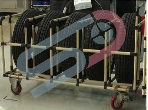 ABS Coated Pipe and Joint Trolleys Image