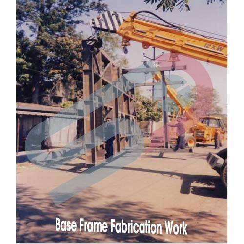 Base Frame Fabrication Work Image